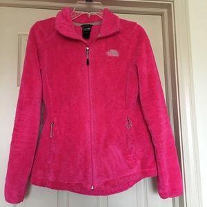 Women's small North Face fleece jacket
